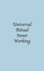 Universal Ritual Inner Working Masonic ebook