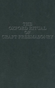 The Oxford Ritual of Craft Freemasonry Masonic ebook | 9780853181552