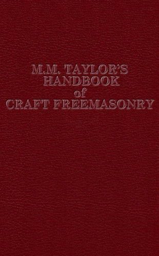 MM Taylor's Handbook of Craft Freemasonry Masonic ebook | 9780853183389